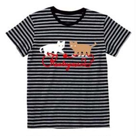 rendezvous Tシャツ (ブラックボーダー)