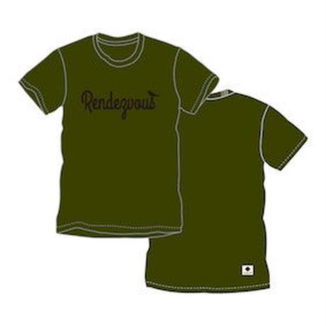 rendezvous Tシャツ(オリーブ)