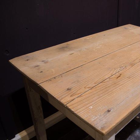 フランスブロカント、パイン材テーブル