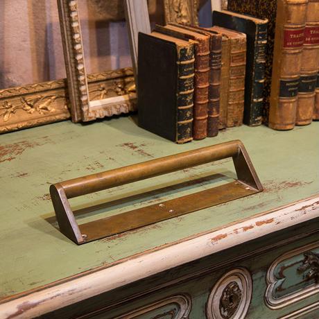 大きめアンティーク真鍮ドアハンドルA
