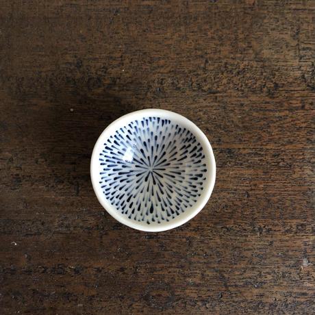 染付 花火文 豆鉢