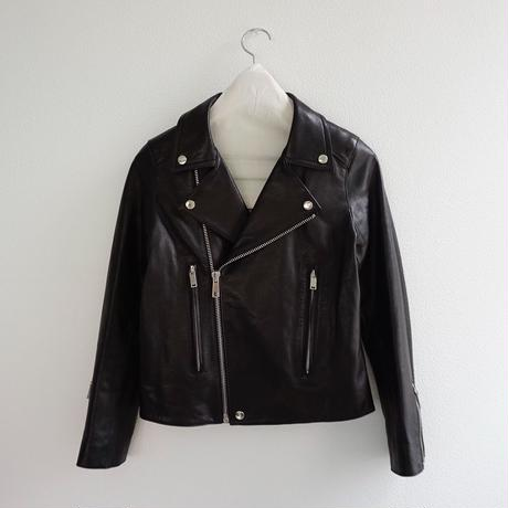 THOMAS MAGPIE Lamb leather  riders jacket                             No.2183506