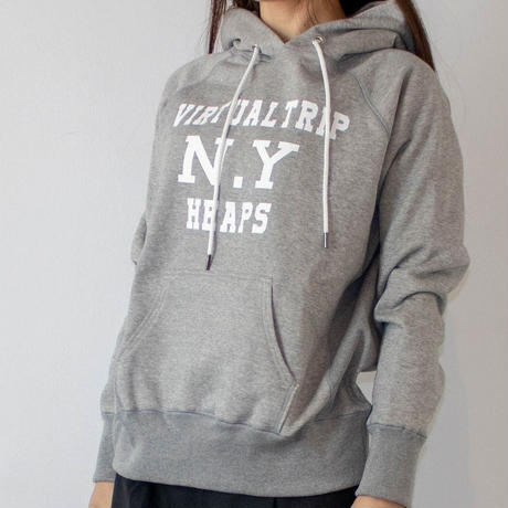 THOMAS MAGPIE  Fooded  sweatshirt  【VIRTUAL TRIP  N.Y  HEAPS】  No.2183801