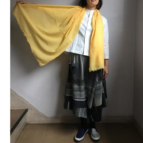 ao daikanyama  ガーゼ・カラーストール 若菜色