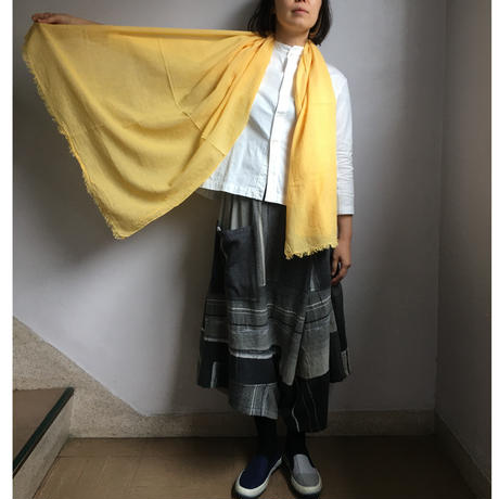 ao daikanyama  ガーゼ・カラーストール 深緑