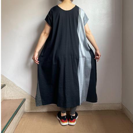 tamaki niime   only one fuwa-T long  cotton 100%   Dブラック系