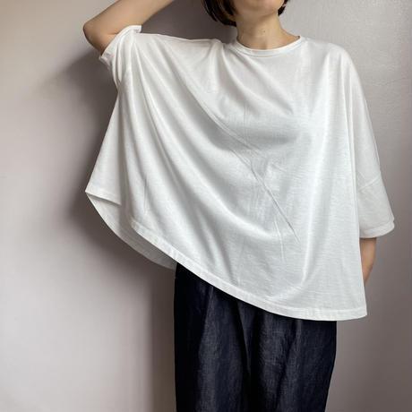オーガニック天竺 ビッグTシャツ 2色