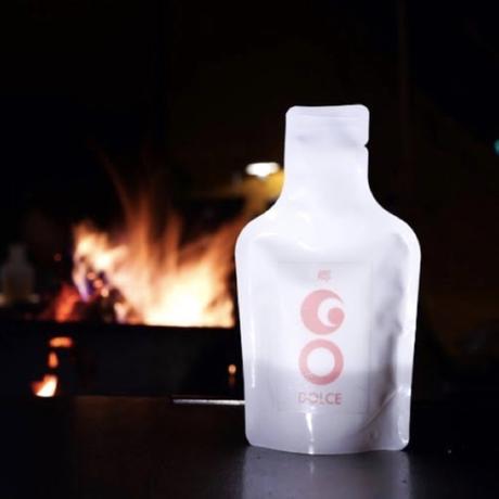 野遊び用日本酒「GO POCKET」DOLCE(100cc ) フルーティな甘さの純米吟醸酒