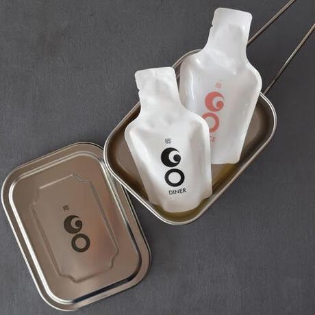 GO POCKET 2パック(DINER & DOLCE)+ GOオリジナル メスティン セット