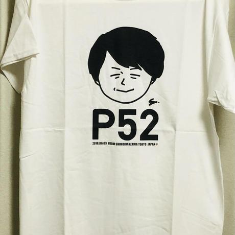 P52ポンコツTシャツ (白)