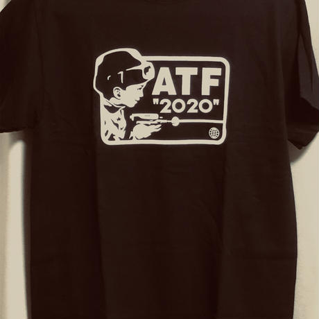 ATFIELD 20TH記念Tシャツ (黒)
