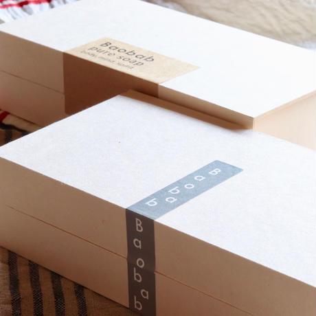 ギフトボックス(牛乳パック再生紙使用)