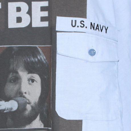 KNIFEWING US NAVY BAND TEE / Beatles
