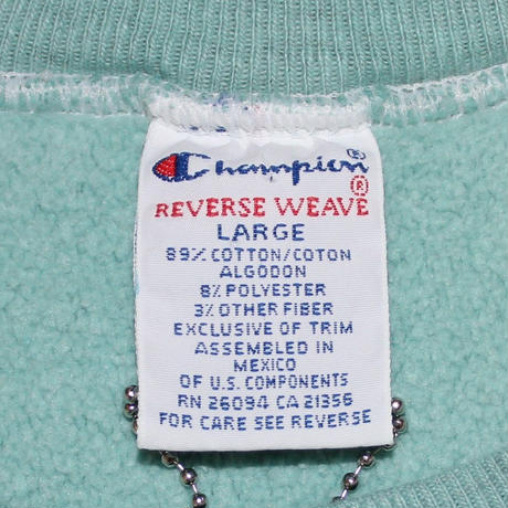 CHAMPION REVERSE WEAVE  OVER DYE #L