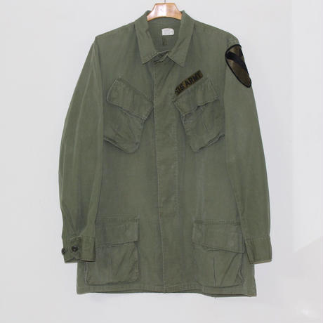 US ARMY JUNGLE FATIGUE JACKET  USED #B