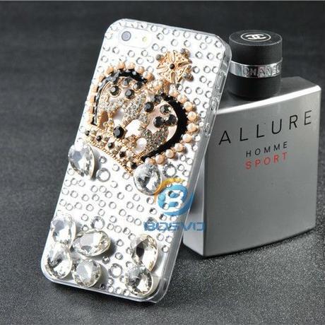 デコレーションiPhone5及び5s用ケース クラウン王冠タイプ、ミニ