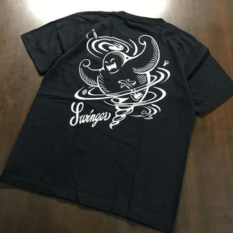 SWINGER CYCLONEMAN Tee_[Black]