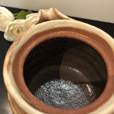 萩焼 彩土宝瓶 木箱入