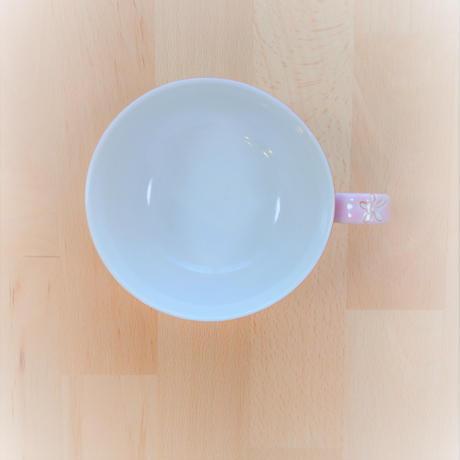 九谷焼 朱巻小花 スープカップ