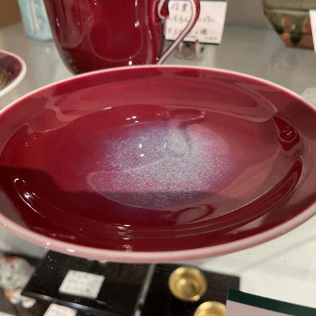 有田 辰砂 碗皿