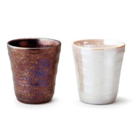 美濃焼 東山窯  tsui 輝き フリーカップ 【送料無料】