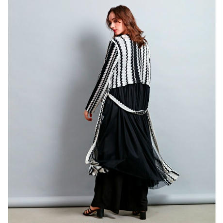 RITSUKO SHIRAHAMA ロングカーディガン 1202080