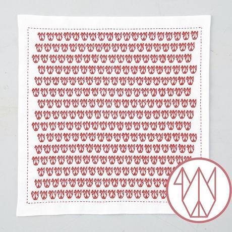 Olympus 一目刺し花ふきん 折り紙  布パック