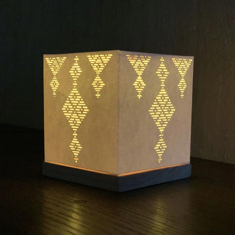 光るこぎんランプシェード製作キット上級① シャンデリア