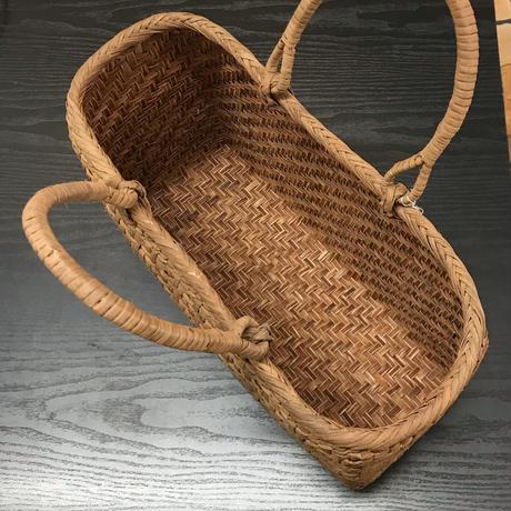 山ぶどう網代編みかごバッグ A