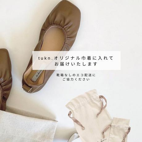 4/7入荷【2021春夏】 スクエアギャザーミュール 3020-10
