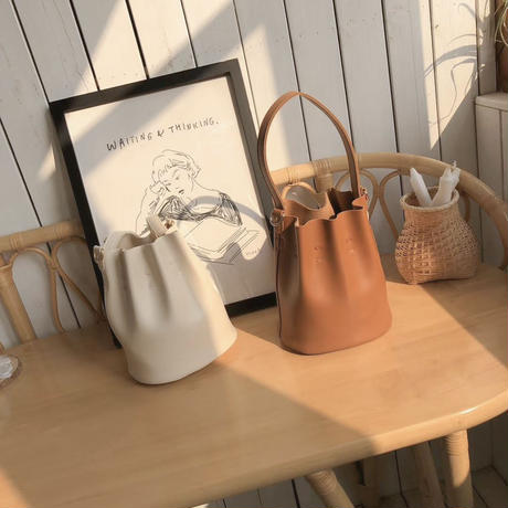 【 last1 】Gather bucket Bag 3-B7020