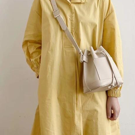 (SALE)巾着ショルダーバッグミニ【3-B2108】