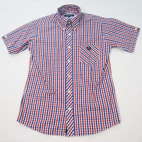 ネバートラスト HOUSE CHECK B.D. SS SHIRT