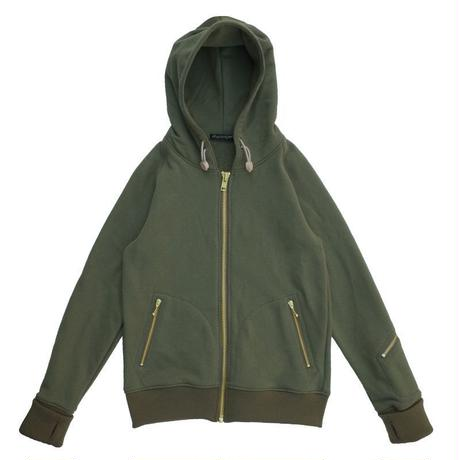 オリジナルJOHN GOLD ZIP HOODED JUMPER