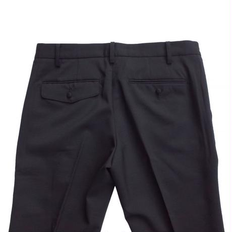 オリジナルJOHN STRETCH SLIM TROUSERS BLACK