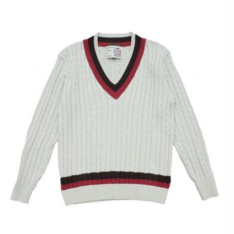 オリジナルJOHN Vネックニットセーター