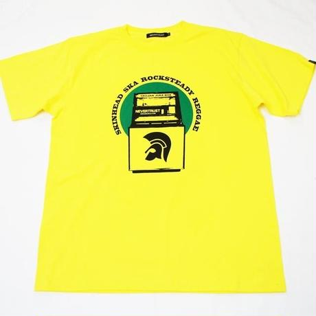 TROJAN JUKE BOX SS T-SHIRT YELLOW