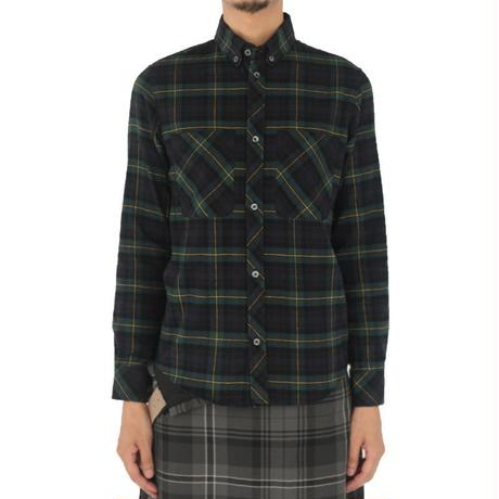 オリジナルJOHNTARTANFLANNELSHIRTSGREEN
