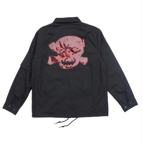 オリジナルJOHN PLASTIC PATCH COACH JACKET BLACK
