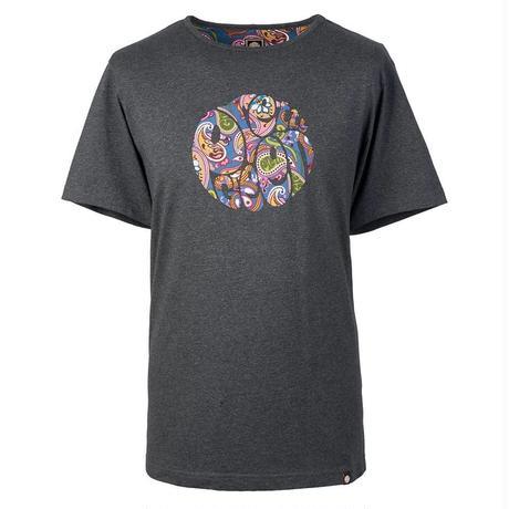プリティーグリーン SS THORNLEY ペイズリーロゴ クルーネック Tシャツ