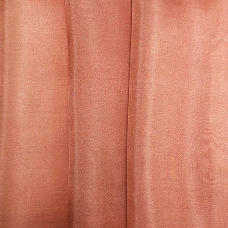 染正絹羽二重6匁 赤茶 3枚セット 約20cm×約22cm (3枚/1袋)