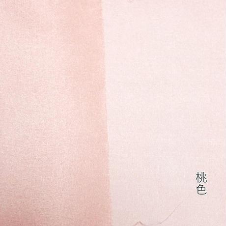 染正絹羽二重8匁 赤・桃・桜 3色セット約20cm×約44cm (3色×各1枚)