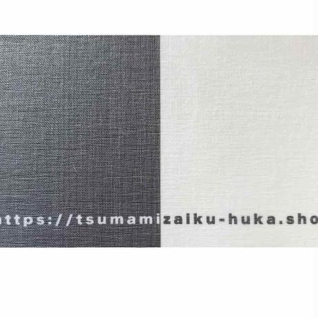 正絹オーガンジー 固糊 巾約107cm×長さ約100cm