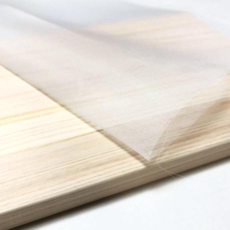 正絹オーガンジー 固糊 巾約48cm×長さ約48cm