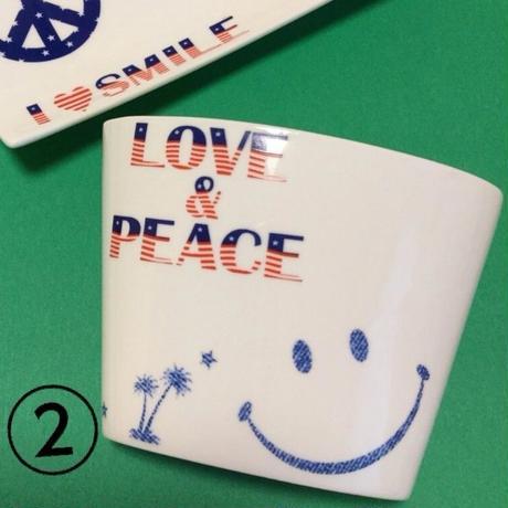 love&peace にこちゃんしゃもじ立て