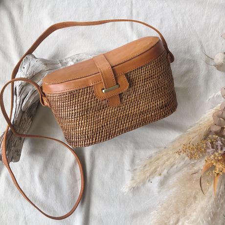 Rattan Shoulder Bag