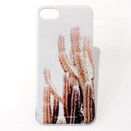 Abstract Collection iPhone Hard Cover -Cactus Love-