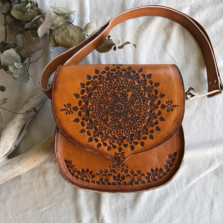 Carving shoulder Bag Small