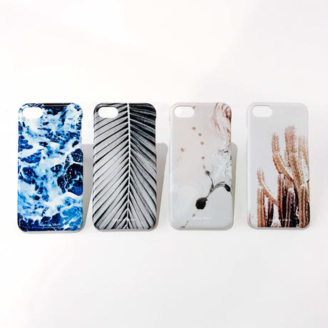 Abstract Collection iPhone Hard Cover -Palm Spine-
