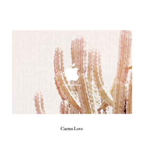 TBC Abstract Collection Macbook Cover -Cactus Love-